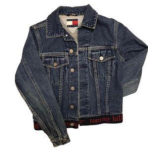 Vintage Tommy Hilfiger Denim Jacket   XS
